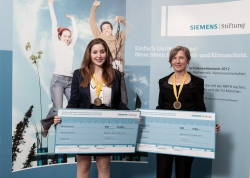 Paulina Banszerus, Veronika Stein - Student competition of the Siemens Foundation (final)